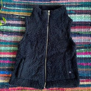 NWT Tommy Hilfiger Black Cozy Vest